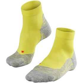 Falke RU4 Hardloopsokken Heren geel